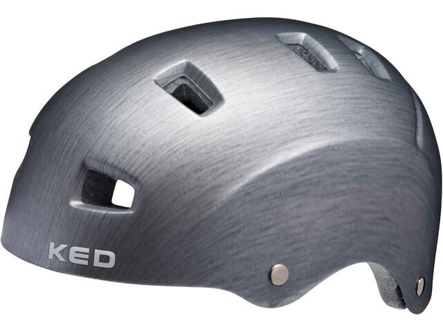 KED Risco Helmet grey metall matt